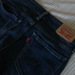 711 levis skinny jeans!!!